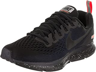 Nike Women s Air Zoom Pegasus 34 Running Shield Shoe  Black Black-Black-Obsidian ae1e12891