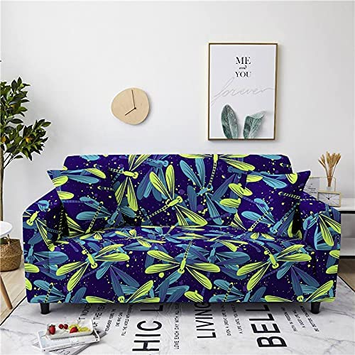 AMZAO High Stretch Sofa Covers 1 2 Flow Max 87% OFF 4 Dragonfly and Tulsa Mall Seater 3