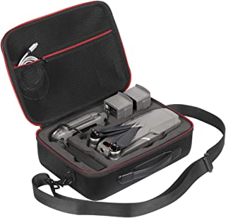 DJI Mavic 2 Zoom/Mavic 2 Pro Case JSVER Hard Travel Carrying Case for DJI Mavic 2 Pro/Mavic 2 Zoom Fly More Combo & DJI Smart Controller, Mavic 2 Body, 2X Batteries, Charger, Propellers