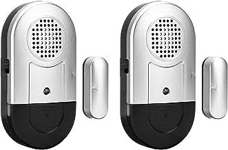 Wireless Door Sensor Door Window Open Chime Entry Alarm Home Security Magnetic Alarm System Burglar Detector 125DB Anti-Th...