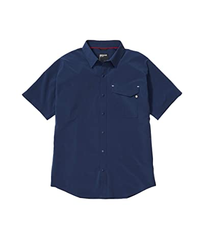 Marmot Northgate Peak Short Sleeve (Arctic Navy) Men