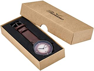 Charisma Dress Watch For Men Analog Leather - C1004BR