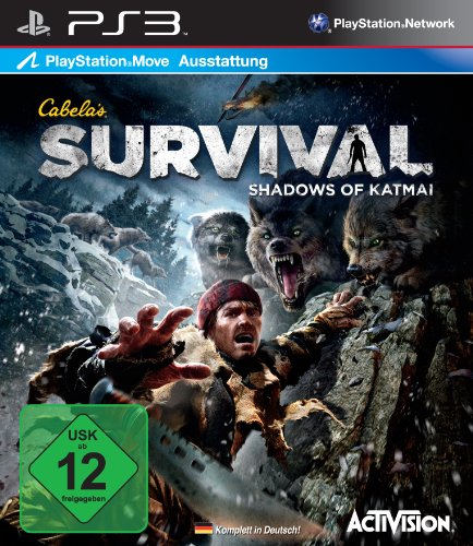 Cabela's Survival: Shadows of Katmai (Move kompatibel) [Edizione: Germania]