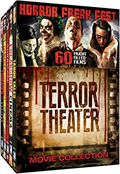 Horror Freak Fest  Terror Theater Movie Collection  Night of the Living Dead - The Terror - House on Haunted Hill - The Little Shop of Horrors - Reefer Madness - The Cocaine Fiends - The Beast of Yucca Flats + 53 more!