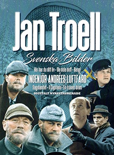 7 DVD SCHWEDISCH : JAN TROELL - SVENSKA BILDER