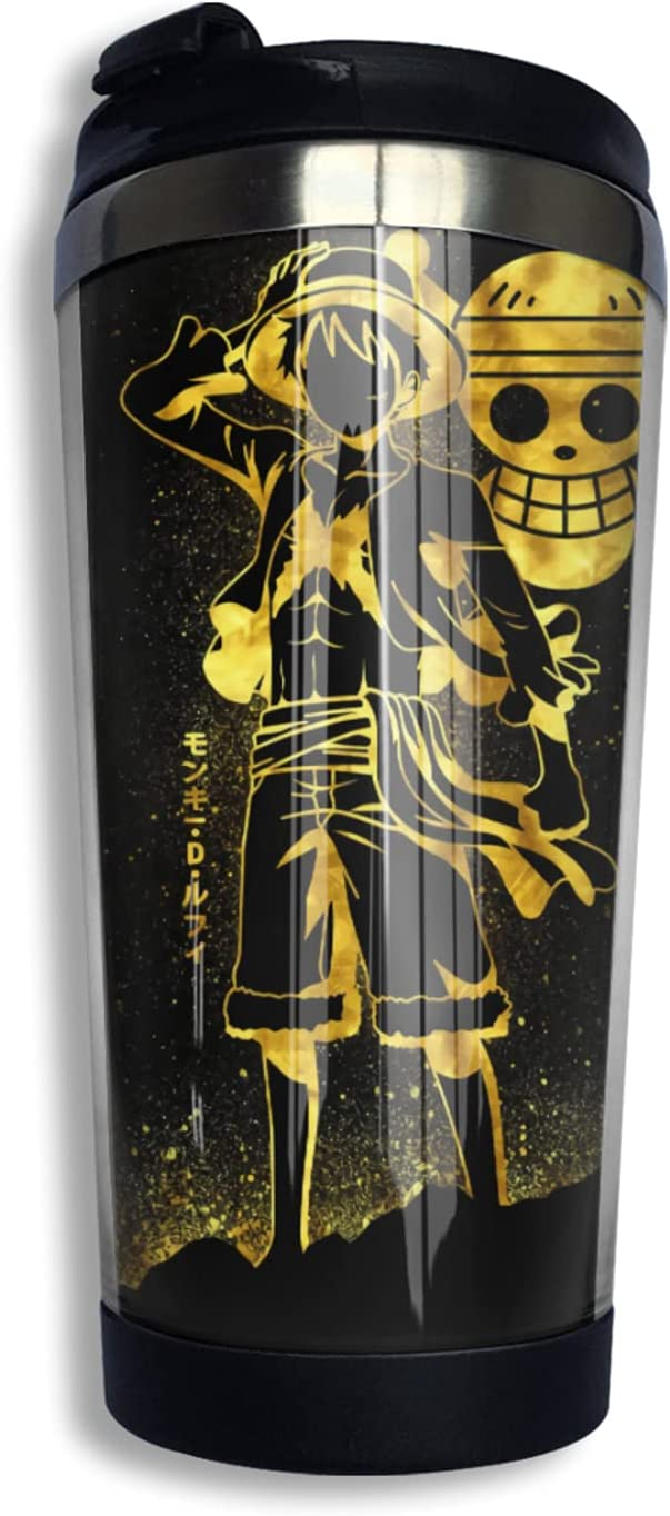 One Piece Monkey D Luffy Jacksonville Mall Anime Coffee 3d Thermos F Print Cup Mug Tampa Mall