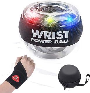 手首のパワージャイロボール、手首のパワーエンハンサー、前腕のエクササイザは、腕の指の手首の骨と筋肉を強化できます 动力球