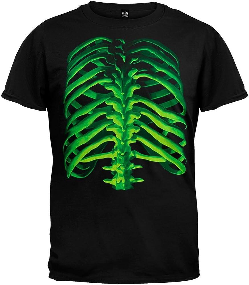 Old Glory Glow Bones Youth T-Shirt