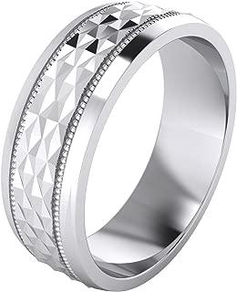 anillos de plata para matrimonio