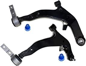 DLZ 2 Pcs Front Lower Control Arm Ball Joint Assembly Compatible with 2003 2004 2005 2006 2007 Murano K620558 K620559