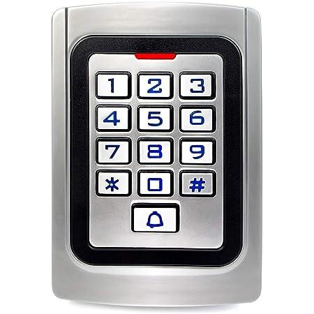 Retekess T-AC04 Garage Keyless Entry Pad,Access Control Keypad,Door Keypad,Wiegand 26 PIN Code RFID Keypad,IP68 Waterproof,2000 Users