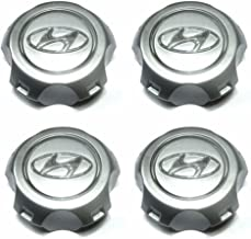 Center Allloy Wheel Hub Cap set 4Pcs For Hyundai 2005-2009 Tucson OEM Parts