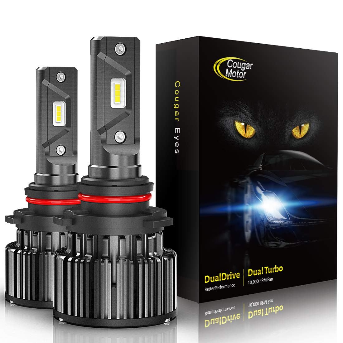 CougarMotor Headlight Bulbs All Conversion