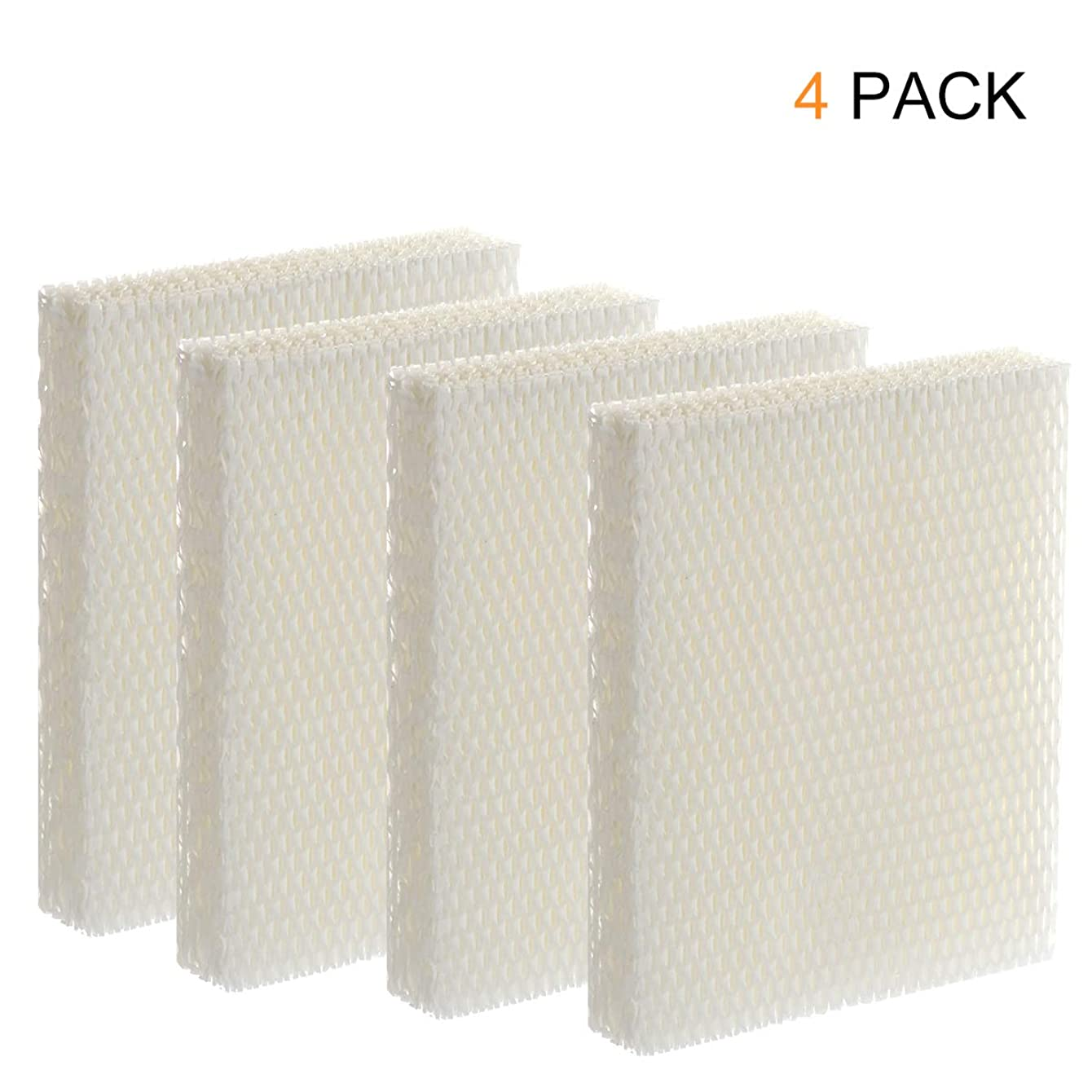 Wigbow HFT600 4 Pack Humidifier Compatible Filter, Wigbow Filter T - Made for HEV615 and HEV620 Models