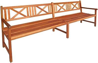 Aktive 61006 - Sofá cama de madera para jardín con cojines ...