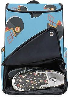 DEZIRO - Mochila para ordenador portátil con diseño de fútbol americano, para mujer y hombre, mochila de negocios, para colegio, colegio, colegio, mochila para negocios.