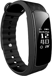 Lintelek Pulsera Inteligente, Activity Track con Monitor de Podómetro,Sueño,Contador de Calorías,Bluetooth 4.0,para iOS 8.0, Android 4.4 (Sin Ritmo Cardíaco)
