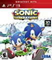 Sonic Generations - Nintendo 3DS/PlayStation 3/Xbox 360 from Sega of America, Inc. - Console