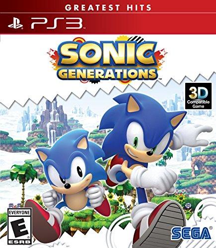 SEGA Sonic Generations, PS3 PlayStation 3 vídeo - Juego (PS3, PlayStation 3, Aventura, E (para todos))