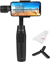 Moza Mini-MI 3-Axis Smartphone Gimbal Stabilizer, Wireless Phone Charging, Max Load 10.6 oz, Multiple Subjects Detection, Inception Mode, Timelapse Slow Motion