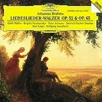 Brahms - Liebeslieder-Walzer (Love Song Waltzes), Opp. 52, 65 ; 3 Quartets, Op. 64 by Edith Mathis (2001-12-21)