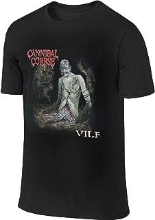 PatrickCSmith Cannibal Corpse Vile Man's Summer Round Neck Cotton Soft T-Shirt