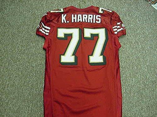 Kwame Harris San Francisco 49ers 2007 Game Worn Jersey
