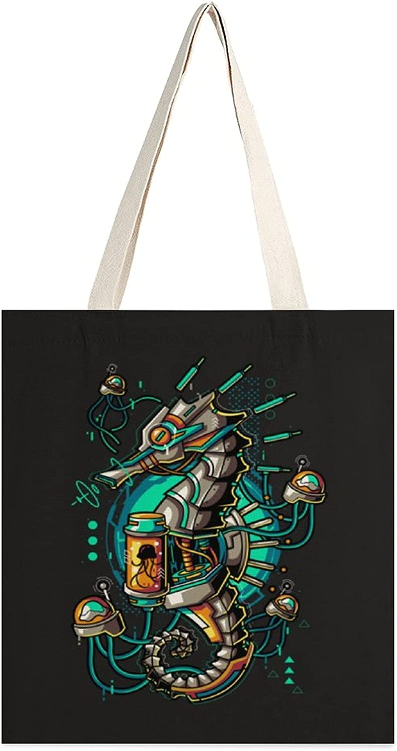 Canvas Tote bag for Women Printing Outstanding Washable Shoppin Double-Sided Max 90% OFF