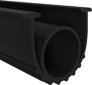 Garage Door Seals Bottom Rubber Weather Stripping Kit Seal Strip Replacement,Universal Weatherproof Threshold Buffering Se...