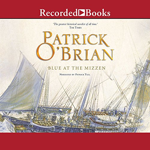 Blue at the Mizzen audiobook cover art