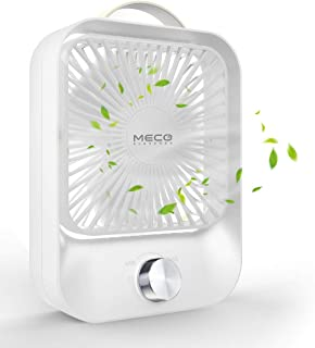 MECO ELEVERDE USB-ventilator, mini-tafelventilator met onbeperkte snelheid, ventilator van stille sterke windventilator, e...