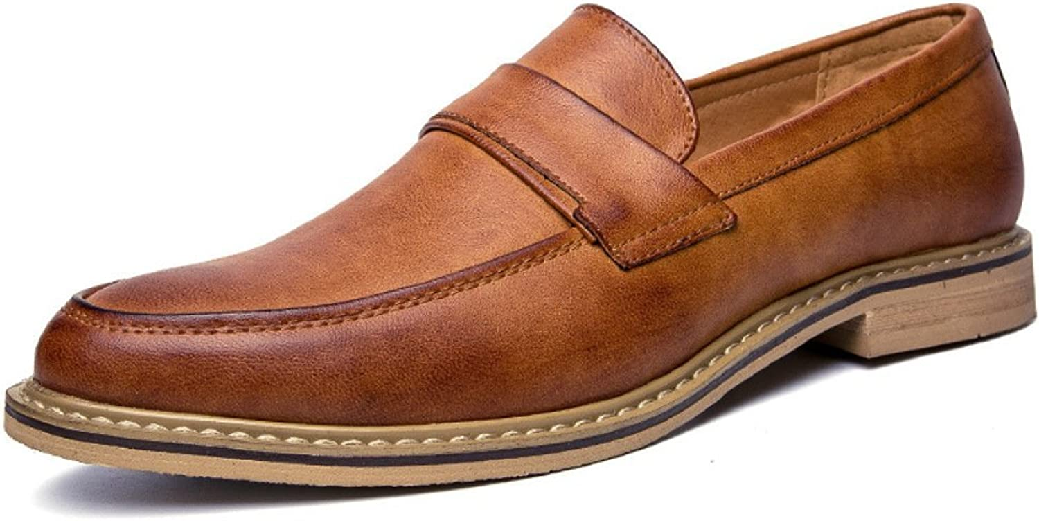 Men's, Heel shoes, Fashion, Men's shoes, Leather shoes, England, Pointed, One-Legged shoes