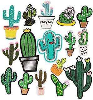 Best cactus iron on patch Reviews