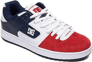 DC White-Navy-Red Manteca Shoe (US 12, White)