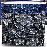 xingxing Pet Supplies - Fondo de acuario de piedra de roca 3D para acuario de reptiles