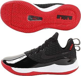 Nike Men's Lebron Witness III PRM Basketball Shoe (10 M US, Black/White/University Red)