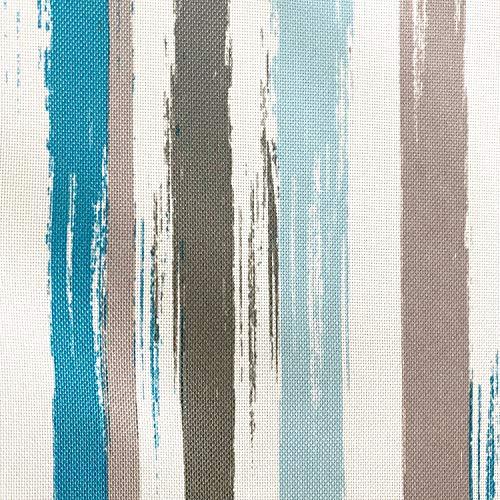 novely® OXFORD 210D | 1 lfm | Polsterstoff Polyester Outdoor Wasserabweisend Reißfest Dekostoff | D131 Streifen Pastell