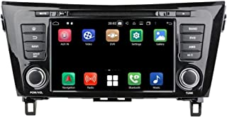 8 Inch TouchscreenAndroid 10.0 OS Car Radio Compatible with Nissan Xtrail/Qashqai(2014-2020), 4GB RAM+64GB ROM, DVD Player...
