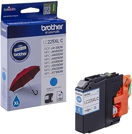 Brother Ink Cartridge For Lc225xl Cyan Bürobedarf Schreibwaren