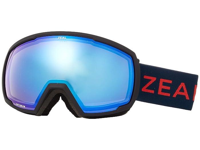 Zeal Optics Nomad (Americana w/ Sky Blue Mirror) Snow Goggles