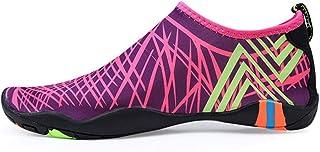 Men Women Sneakers Barefoot Beach Water Shoes, Quick-Drying Aqua Shoes Beach Footwear,Mens Surfing Swim Water Sport Shoes
