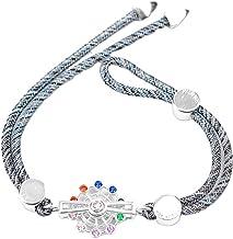 N/A Sieraden S925 Zilver Reuzenrad Kleur Dubbele Armband Verstelbare vrouwen Sieraden Armband Moederdag Kerstverjaardagsca...