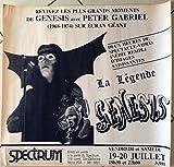 Genesis–Peter Gabriel–61x 59cm zeigt/Poster
