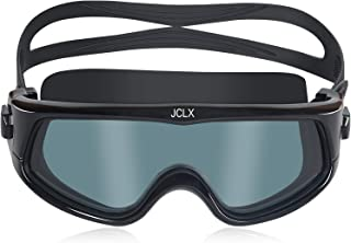 JCLX4 Swim Goggles No Leaking Anti-Fog Swimming Goggles...