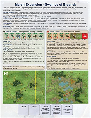 Conflict of Heroes: Marsh Map Expansion