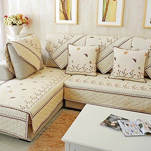 DIGOWPGJRHA Housse de canapé pour animal domestique - Housse de canapé 3 coussins - Housse de canapé inclinable - Housse de canapé - A 110 x 160 cm
