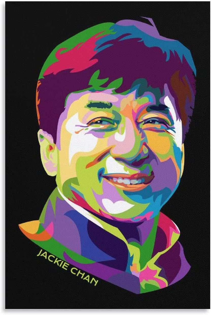 Sale SALE% OFF JIALING 14 Jackie Chan Famous Actor latest Wall Canvas Art Prints Poste