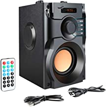 $209 » shiy Bluetooth Speaker High-Power Bluetooth Speaker Wireless Stereo Subwoofer Subwoofer Music Player Support LCD Display F...