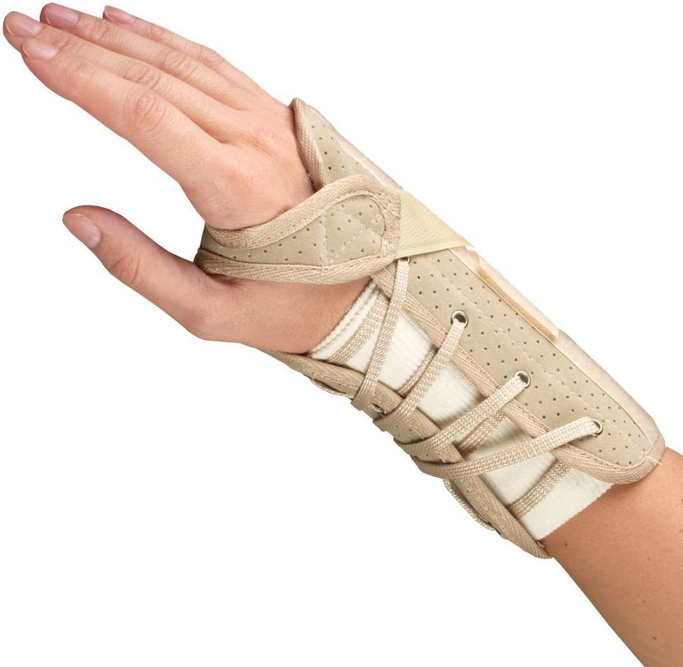 OTC Wrist Translated Brace Soft-Fit Suede Finish Complete Free Shipping Hand Small Right