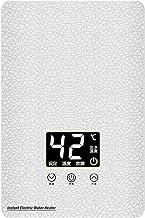 Calentador De Agua De Cocina, Calentador De Agua Eléctrico Instantáneo, Termostato, Instalación Flexible De 360 °, Tempera...
